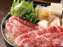【牛すき鍋】お肉が食べたいあなたにオススメ!良質の国産黒毛和牛を使った牛すき鍋です♪