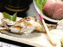 山間のお宿ならではの季節の川魚は絶品♪