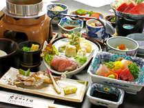 季節の食材をギュッと集めた人気の季節会席♪篠山の旬を集めています!