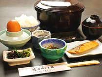 和朝食で起き抜けの胃をじんわり温めて、気持ちいい朝をお手伝い