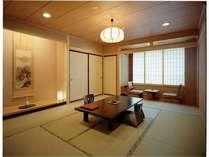西館・和室10畳 浴場に近い方のお部屋となります。