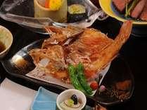 吉次唐揚げ こちらは、お料理のランク毎に大きさ・質が異なります。