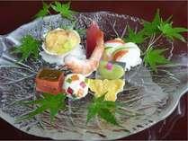 夏季限定の前菜(一例)