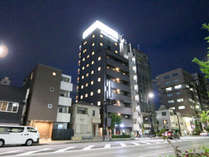 ◆ホテルリブマックス秋葉原北 外観(夜)◆