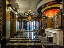 ホテルロビーカウンター
