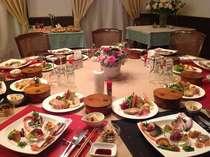 会津の伝統美食料理と新そば&ワイン、ビール、酒など飲み放題プラン!