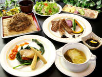 キタムラの定番☆お肉メインの洋食コースもすべてこだわりの手作り!(※写真は一例です)