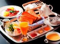 洋朝食も事前にご連絡いただけましたら・・・ご用意いたします。