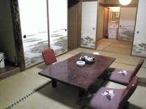 H10年に改築したシンプルな和室