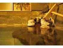 源泉100%良質な温泉。お肌ツルツル美肌、保温、傷補修効果あり
