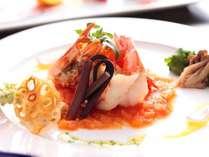 料理長が厳選した旬の素材を使った本格洋食コース。