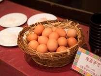 地元農家こだわりの「明野の卵」はミネラルたっぷり!山梨の恵まれた気候で育ちました。