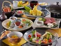 ≪特選和食会席(赤岳会席)≫メイン素材は料理長特選の国産牛フィレ肉