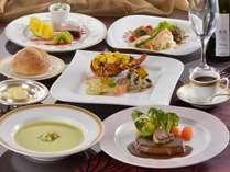 ≪特選洋食(プラトー)≫料理長特選の国産牛フィレ肉と、良質素材を使った洋食フルコース。