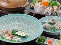 ◆河豚/冬ならではの美味しさを鍋や唐揚げで(冬季限定)3名盛