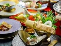 ◆推奨料理 虹花-なないろ-会席/海山の幸と旬野菜を品数豊富にバランスよく(イメージ)