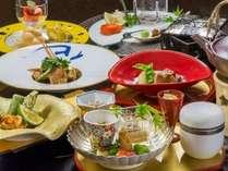 ◆特選料理 輝花-かがやき-会席/選りすぐりの贅沢食材を少量ずつ種類豊富に(イメージ)