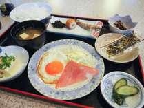 *【朝食一例】家庭的な和定食