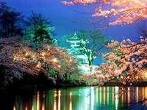 【1泊2食お花見プラン:高田公園夜桜見物付パック】