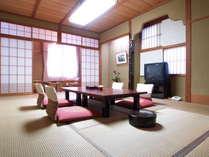 標準的な本館和室(12畳・8畳・7.5畳あり)お部屋タイプおまかせ
