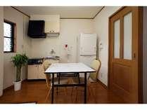 客室【ミニキッチン】(全室共通)※調理器具及び食器は無。