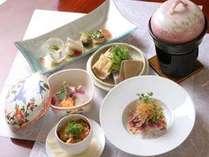 季節の食材を使った和風創作料理