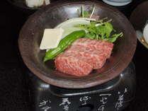 信州牛の陶板焼