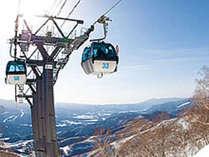 ホワイトワールド尾瀬岩鞍スキー場までは、当館より車で5~6分の距離です。