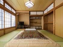本館和室(一例)お客様の人数により、様々な広さのお部屋があります。