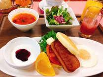 【朝食】スパムマフィンプレート※画像はイメージです