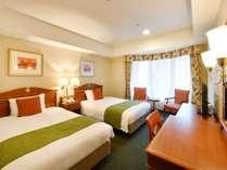 スタンダードツインルーム21平米 ベッド幅120cm×2台