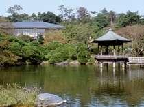 成田山裏手に広がる広大な成田山公園