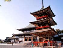 【成田山・新勝寺(一例)】海外旅行前に、お寺の散策なんていかがですか?