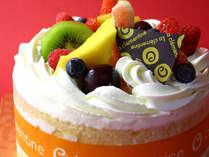*記念日プラン用ケーキ(イメージ)記念日はやっぱりケーキでお祝い♪