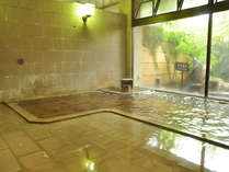 大浴場温泉。手足を伸ばしてゆっくり寛いで。