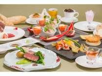 那須野が原和牛をメインとした創作料理のフルコース