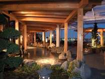 大浴場【湯河原温泉】横浜港に面した開放的な露天風呂