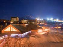 安比温泉白樺の湯 冬季外観