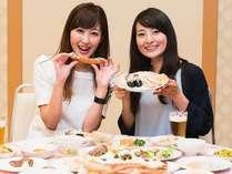 【2日間限定!】特大ズワイガニと特選メニューの饗宴★ディナーバイキング【18:30食事スタート】