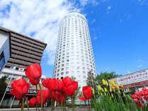 春の札幌プリンスホテル