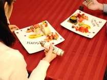クリスマス宿泊プラン☆販売中「コーヒーラウンジ マウナケア」スイーツデコ(イメージ)