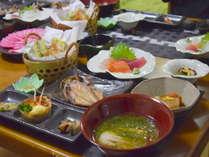 新鮮な海産物の本格和食。作りたてを部屋食で!