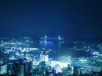 幻想的に輝く、長崎1000万ドルの夜景