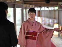 ◆お客様に心こもったおもてなしを・・・最高の笑顔でお迎えします