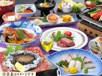 山海食べ比べ会席料理【椿】※写真はイメージです