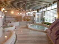 大浴場は広々&沢山の種類のお風呂があってワクワク♪