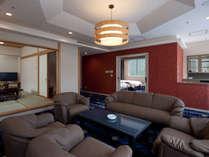 【エグゼクティブスイート】95m2+和室13畳というゆとりの広さ、快適なご滞在をお約束いたします。