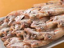 <朝食バイキング>高級魚とされる「のどぐろ」を開きで召し上がれ