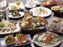 """【冬の味覚祭り!】""""寒ブリと蟹""""の贅沢食べ比べ!「冬の鰤、蟹会席」"""