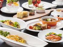 富山県の旬の食材をふんだんに使用した本格コース「季節の創作イタリアン」